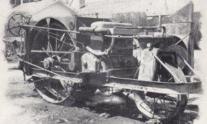 MINDEN , Nebraska , 1940-50s ; Pioneer Village ; An old CASE Tractor
