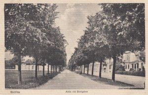 SKOFDE , Sweden , 1900-10s ; Allen vid Skolgatan