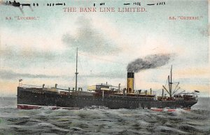 SS Luceric SS Ortheric Bank Line Ship Unused