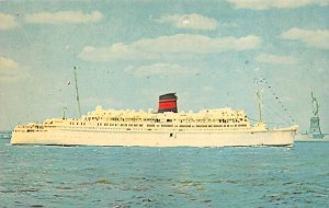 QTEV Queen of Bermuda Furness Line Ship Unused
