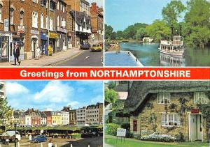BR82984 greetings from northamptonshire     uk