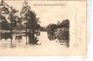 The Wye near Haddon Hall Tuck Country Derbyshyre Series PC # 3211