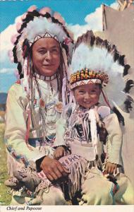 Indian Chief and Papoose