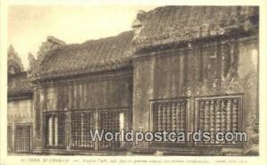 Ruines D'Angkor Cambodia, Cambodge Aile Sud du proche central des entrees occ...