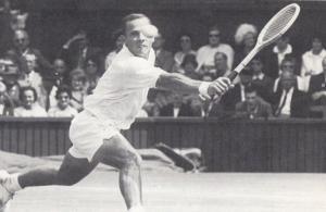 Chuck McKinley USA American Wimbledon Tennis Champion Vintage Postcard