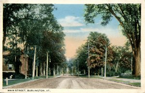 VT - Burlington. Main Street