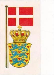 Brooke Bond Tea Trade Card Flags &amp  Emblems No 26 Denmark
