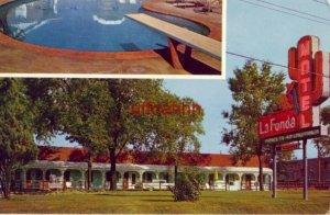 LA FONDA MOTEL Highway No 6 BETTENDORF, IA 1965