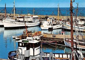 Sweden Simrishamn Motiv fran fiskehamnen Fishing Boats harbour