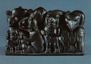VANCOUVER , B.C., 1950-70s; U.B.C. Museum of Anthropoloygy, Argillite Carving