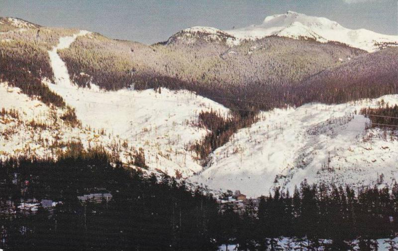 Whistler Mountain, Garibaldi Park,   B.C.,  Canada,  40-60s