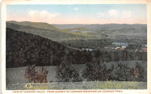 Lebanon Valley Lebanon Springs, New York Postcard