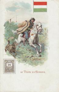 HUNGARY, 1901-07; La Poste en Hongrie