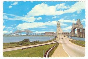 Giant COOPER RIVER Bridges , Charleston , South Carolina, 50-70s