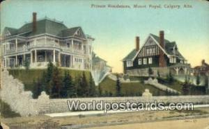 Canada Calgary, Alta Private Residences, Mount Royal