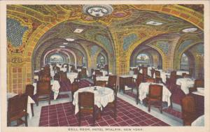 NEW YORK, 1900-1910´s; Grill Room, Hotel McAlpin
