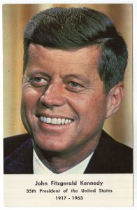 John Fitzgerald Kennedy, 35th President of the United States