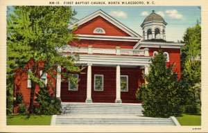 NC - North Wilkesboro. First Baptist Church