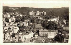 Czech Republic Karlovy Vary Pohled z Jeleního skoku 02.23