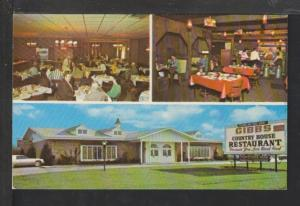 Gibbs Country House Restaurant,MI Postcard