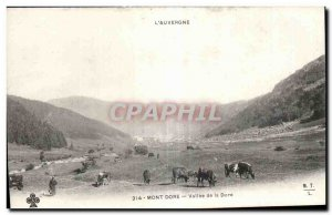Old Postcard Le Mont Dore Dore Valley of the Cows