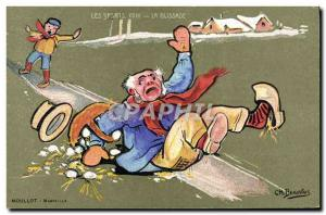 Old Postcard The lllustrateur slide Beauvais