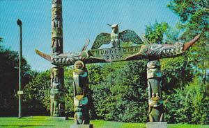 Thunderbird Park,  Victoria,  B.C.,  Canada,  40-60s