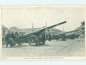1940's MILITARY SCENE Fort Eustis - Newport News Virginia VA AF8954