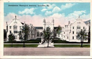 Kentucky Louisville Presbyterian Theological Seminary 1928