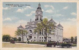 Exterior, Sedgwick County Court House, Wichita,  Kansas, PU-1915