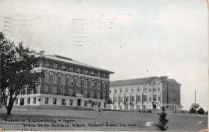 Cedar Falls Iowa~State Normal School~Science Laboratory And Gym~1910 PC