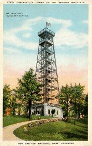 AR - Hot Springs National Park. Observation Tower