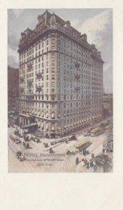 NEW YORK CITY, New York, 1900-10s; Hotel Manhattan, Cable Cars