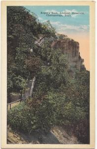 Roper´s Rock, Lookout Mountain, Chattanooga, Tennessee, unused Postcard