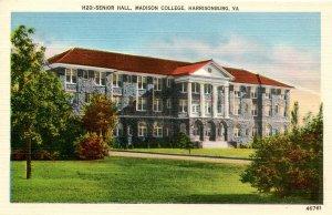 VA - Harrisonburg. Madison College, Senior Hall