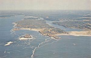 Small Point Maine Hermit Island Campground Vintage Postcard K7876402