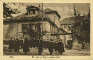 JENA, Currende und Frommannsches Haus (1910s) AK
