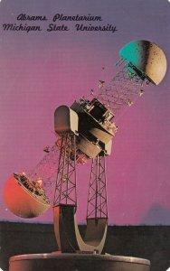 EAST LANSING, Michigan, 1940-60s; Abrams Planetarium, Michigan State University