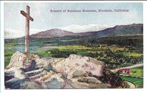 Riverside, CA - Summit of Rubidoux Mountain