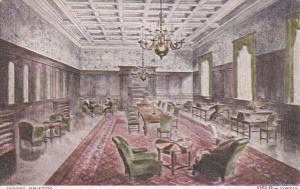 OSLO, Norway, 1900-1910's; Hotel Bristol, Interior View