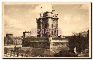 Old Postcard Vincennes castle dungeon