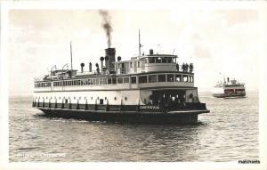 C-1940s Chippewa Ferry PUGET SOUND WASHINGTON RPPC postcard 3620