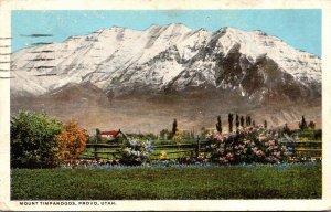 Utah Provo Mount Timpanogos 1919 Curteich