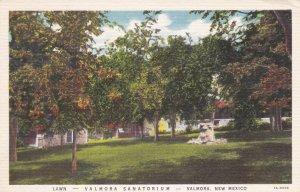 VALMORA, New Mexico, PU-1940 ; Lawn, Valmora Sanatorium