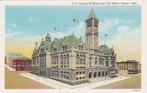 Exterior, U.S. Federal Building and Post Office, Omaha, Nebraska, 00-10s