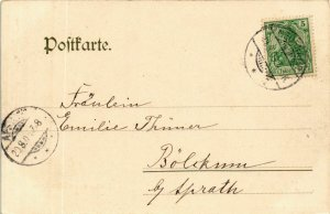 CPA AK Bad Neuenahr Ahrthal vom weissen Kreuz GERMANY (895924)