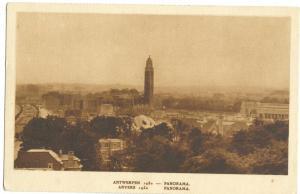 Belgium, Antwerpen, Anvers, Panorama 1930 unused Postcard