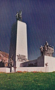 SALT LAKE CITY , Utah , 1950-60s ; This is the Place Monument