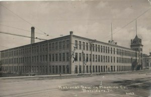 RP: BELVIDERE , Illinois , PU-1912 ; National Sewing Machine Co. : C.R. CHILDS