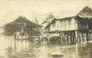 philippines, JOLO, Native Stilt Houses (1910s) RPPC Postcard